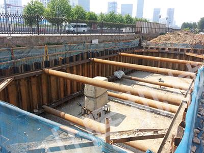 丹东钢板桩施工