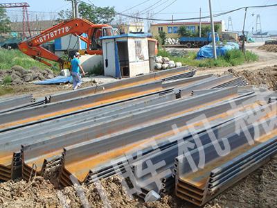 丹东钢板桩租赁
