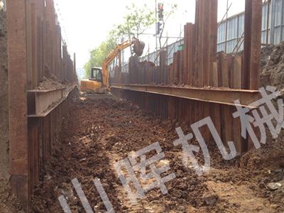 长兴岛大连钢板桩施工
